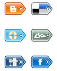 Bookmark PNG icon label style 256x256px