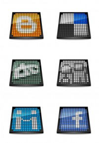 Bookmark PNG icon web20 Mosaic 256x256px