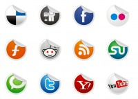 Bookmark Share PNG Angular sticker style icon 128x128px