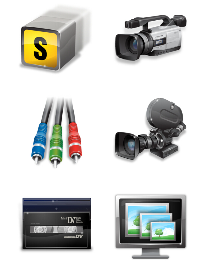 Camera equipment PNG Icon 256x256px