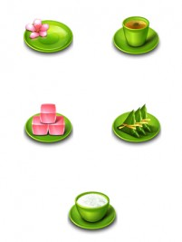 Chinese traditional cuisine PNG Icon 256x256px
