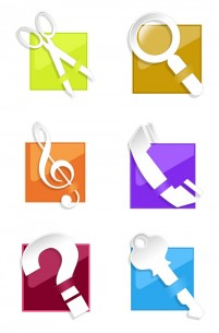 Crystal minimalist style tool PNG icons 256x256px