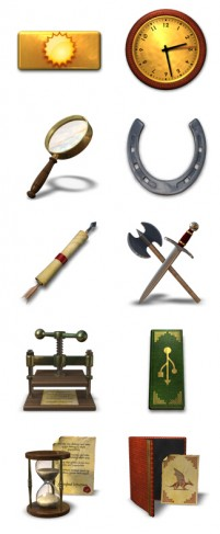 European classical antiquity items PNG Icon 256x256px