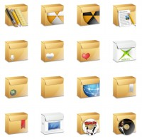 File boxes PNG icons 128x128px