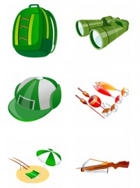 Fishing equipment PNG Icon 256x256px
