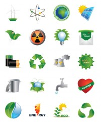 Green Energy PNG icon 128x128px