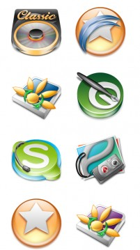 Korea personalization software PNG icons 256x256px
