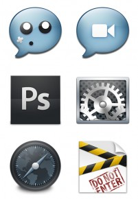 PNG cute personalized desktop icon 256x256px