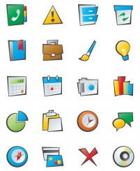 PNG icon minimalist style office 128x128px