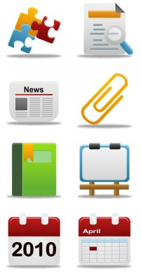 Rounded HD Office PNG icons 256x256px
