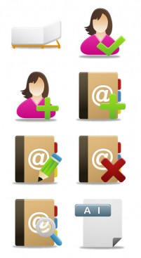 Rounded vector PNG Icons 256x256px