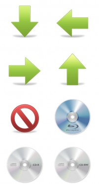 System CD computer monitors PNG icon 256x256px