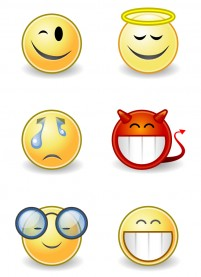 Yellow series Avatar PNG icons 256x256px