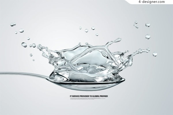Creative tablespoons water