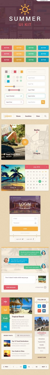 Summer UI toolkit