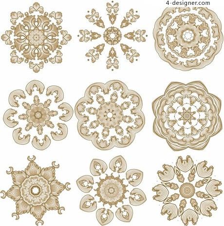 Classical pattern vector pattern surround