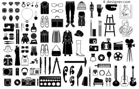 Daily necessities element vector material