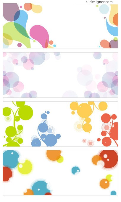 Background color element vector material