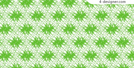 Two square continuous pattern background vector material