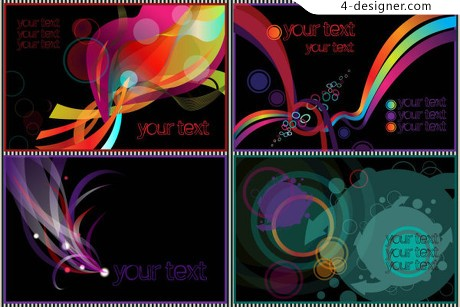 Dynamic lines fashionable texture vector material