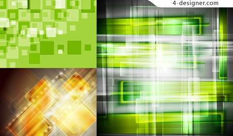 Modern style background vector material