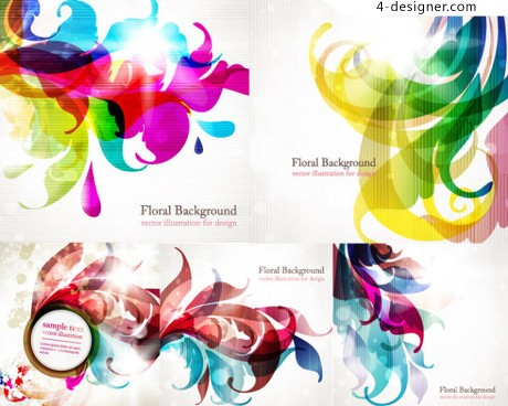 Symphony trend vector background vector material