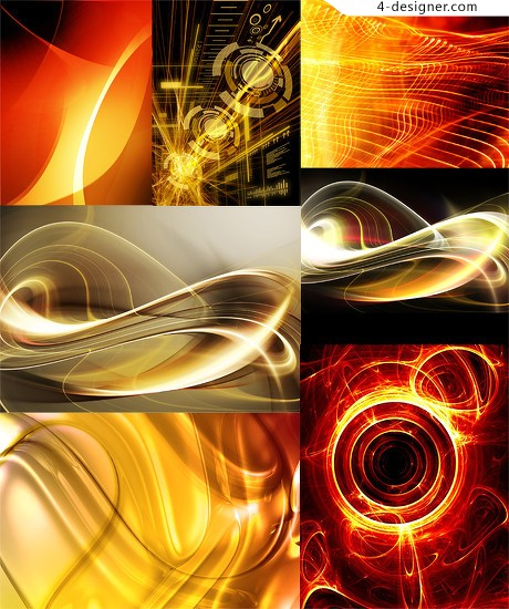 Technology and future network and technology vector material