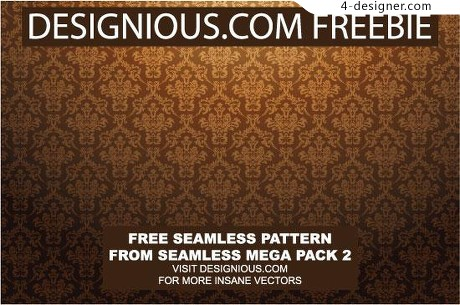 Continuous pattern background vector material