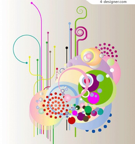 Simple and stylish vector material