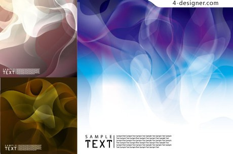 Smoke background vector material