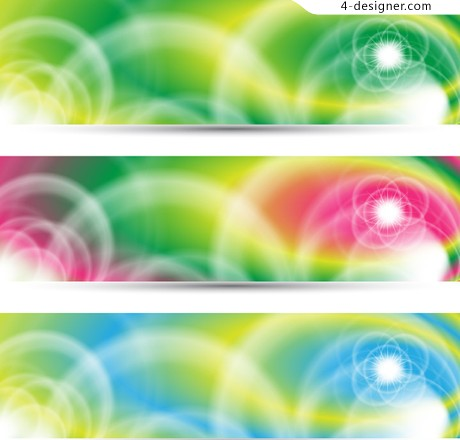 Symphony Fashion banner vector material 02