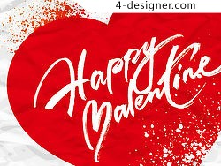 Beautiful valentine cards vector material 08
