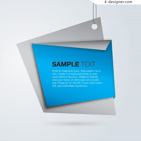 Blue Label Vector material