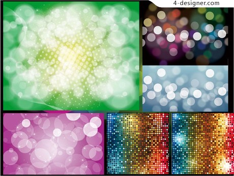 Shiny dissolved map background vector material