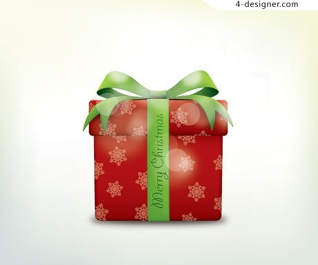 Christmas gift vector material