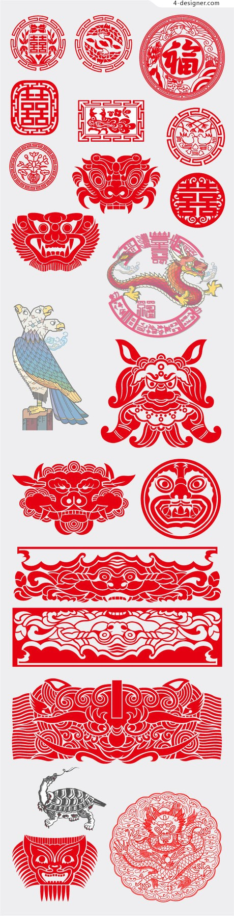 21 of the traditional pattern vector