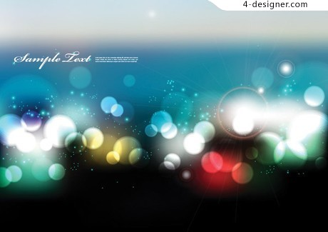 Cool spot background vector material