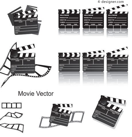 Photography equipment vector material