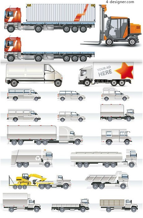 A variety of utility models vector material
