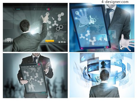 Business Technology Image HD picture material