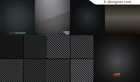 Checkered weave pattern background vector material