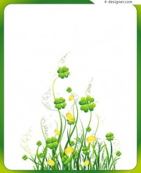 Clover vector material