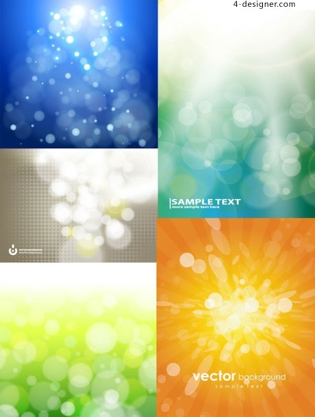 Fantasy light background vector material
