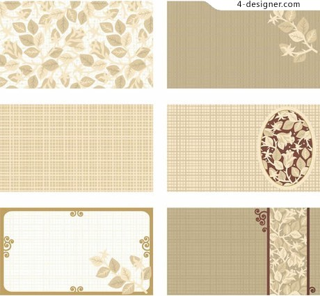 Flower patterns mesh fabric background vector material