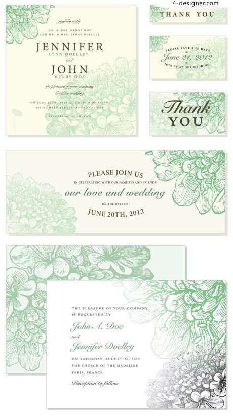 Shading pattern vector fashion simple card