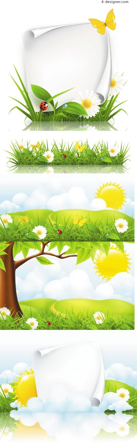Spring element vector material