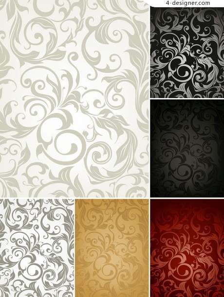 Classic shading pattern vector material