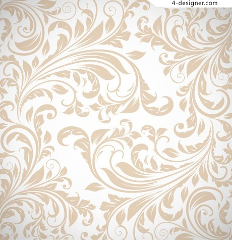 Continental simple pattern vector material