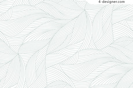 Leaf texture vector material