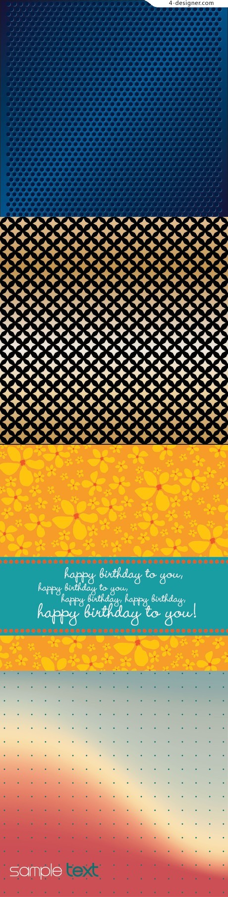 Shading background pattern vector material